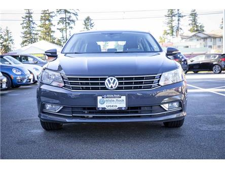 2016 Volkswagen Passat 1.8 TSI Comfortline (Stk: VW1011) in Vancouver - Image 2 of 21