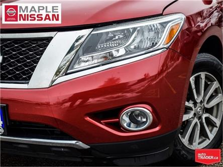 2014 Nissan Pathfinder SL 4x4|Navi|Leather|Alloys|Heated Seats (Stk: M19P038A) in Maple - Image 2 of 26