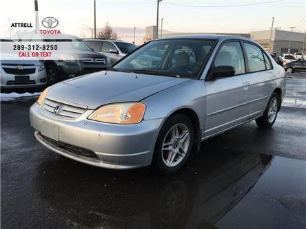 2002 Honda Civic LX-G ALLOY WHEELS, ABS, STEEING WHEEL CONTROLS, 4 (Stk: 45097A) in Brampton - Image 1 of 10