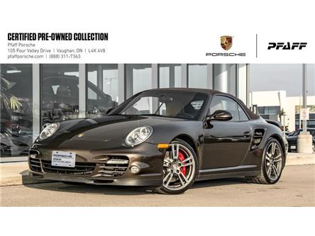 2010 Porsche 911 Turbo Cabriolet PDK (Stk: U7848A) in Vaughan - Image 1 of 21