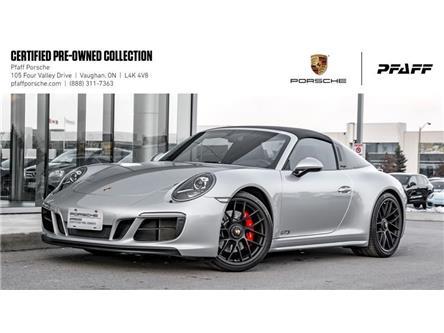 2018 Porsche 911 Targa 4 GTS PDK (Stk: U8221) in Vaughan - Image 1 of 22