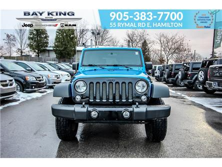 2015 Jeep Wrangler Sport (Stk: 197223A) in Hamilton - Image 2 of 19