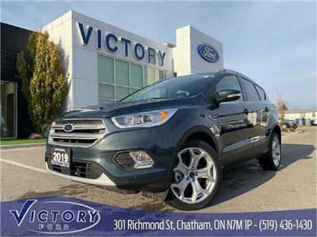 2019 Ford Escape Titanium (Stk: V10330CAP) in Chatham - Image 1 of 29