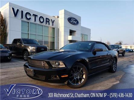 2012 Ford Mustang V6 Premium (Stk: V19082A) in Chatham - Image 1 of 23