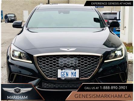 2020 Genesis G80 3.3T Sport (Stk: 194415) in Markham - Image 1 of 22