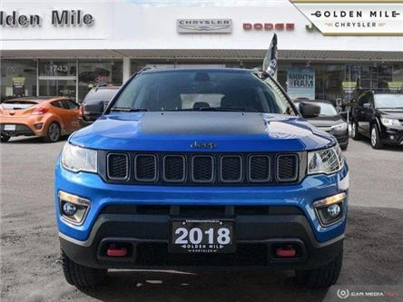2018 Jeep Compass Trailhawk (Stk: P4812) in North York - Image 2 of 23