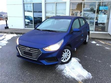 2020 Hyundai Accent Preferred (Stk: H12330) in Peterborough - Image 1 of 12
