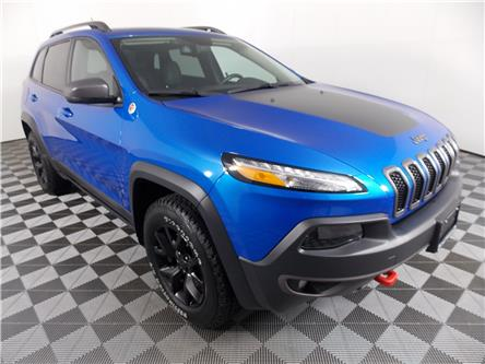 2017 Jeep Cherokee Trailhawk (Stk: P19-168) in Huntsville - Image 1 of 33