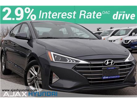 2020 Hyundai Elantra Preferred w/Sun & Safety Package (Stk: P4876R) in Ajax - Image 1 of 32