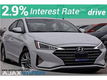 2020 Hyundai Elantra Preferred w/Sun & Safety Package (Stk: P4878R) in Ajax - Image 1 of 31