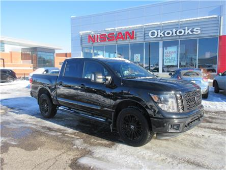 2018 Nissan Titan SL Midnight Edition (Stk: 9891) in Okotoks - Image 1 of 27