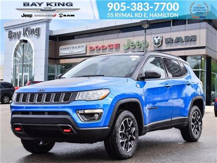 2020 Jeep Compass Trailhawk (Stk: 207528) in Hamilton - Image 1 of 21