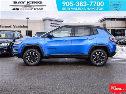 2020 Jeep Compass Trailhawk (Stk: 207528) in Hamilton - Image 2 of 21