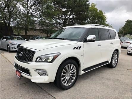 2015 Infiniti QX80 A MUST SEE! NAVIGATION! LEATHER!! (Stk: 5529) in Stoney Creek - Image 2 of 27