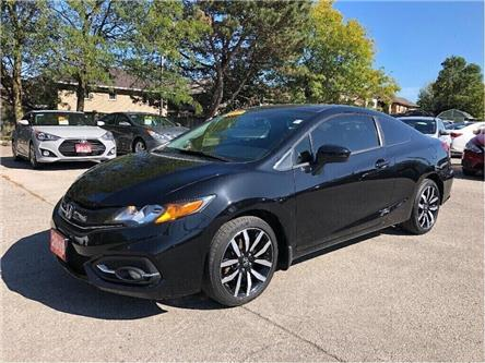 2015 Honda Civic Coupe EX-L| Back up cam| Leather| Navi| Loaded! (Stk: 5527) in Stoney Creek - Image 2 of 22