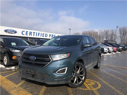 2016 Ford Edge Sport (Stk: NT191309A) in Barrie - Image 1 of 27