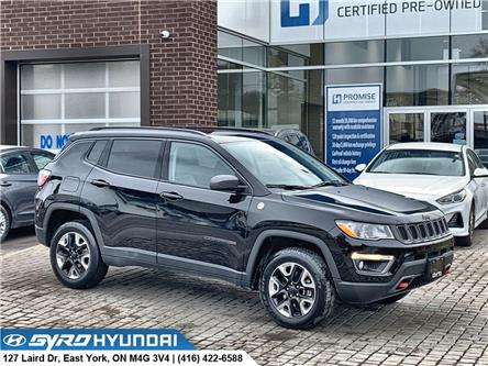 2017 Jeep Compass Trailhawk (Stk: H5452) in Toronto - Image 1 of 30