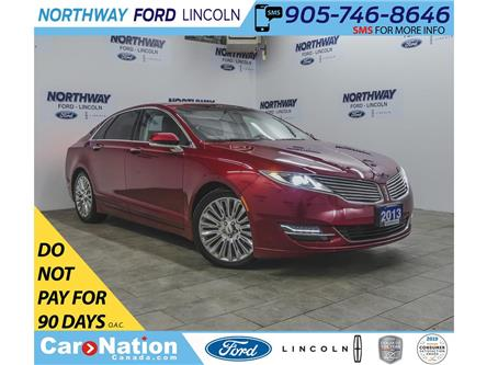 2013 Lincoln MKZ | HTD LEATHER | B/U CAM | PUSH START | SELECT PKG (Stk: DR322A) in Brantford - Image 1 of 39