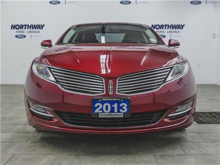 2013 Lincoln MKZ | HTD LEATHER | B/U CAM | PUSH START | SELECT PKG (Stk: DR322A) in Brantford - Image 2 of 39