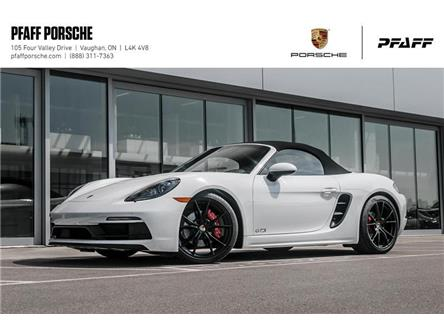 2018 Porsche 718 Boxster GTS PDK (Stk: P13166) in Vaughan - Image 1 of 20