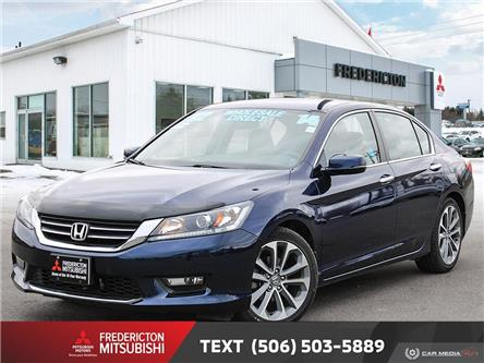 2014 Honda Accord Sport (Stk: 191201A) in Fredericton - Image 1 of 22