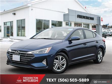 2019 Hyundai Elantra Preferred (Stk: 190863A) in Fredericton - Image 1 of 25