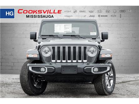 2020 Jeep Wrangler Unlimited Sahara (Stk: LW191324) in Mississauga - Image 2 of 18