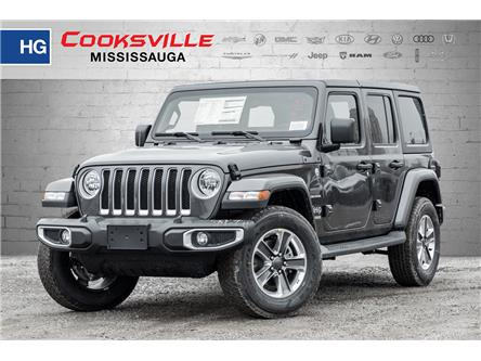2020 Jeep Wrangler Unlimited Sahara (Stk: LW191324) in Mississauga - Image 1 of 18