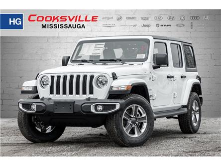 2020 Jeep Wrangler Unlimited Sahara (Stk: LW191303) in Mississauga - Image 1 of 18