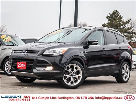 2015 Ford Escape Titanium (Stk: 2447) in Burlington - Image 1 of 27