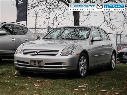 2003 Infiniti G35 Luxury (Stk: 189941A) in Burlington - Image 1 of 9