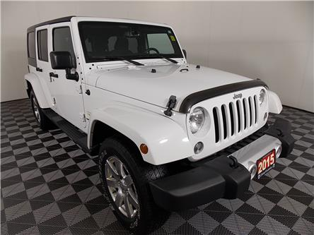 2015 Jeep Wrangler Unlimited Sahara (Stk: 19-440A) in Huntsville - Image 1 of 29