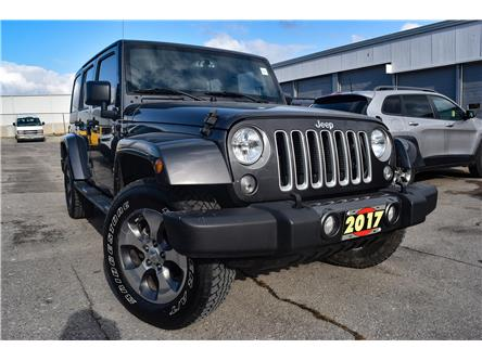 2017 Jeep Wrangler Unlimited Sahara (Stk: 87892) in St. Thomas - Image 1 of 30