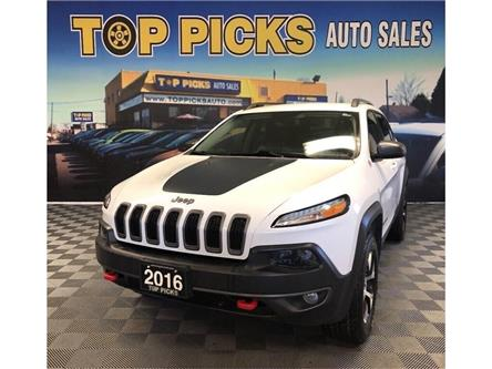 2016 Jeep Cherokee Trailhawk (Stk: 299235) in NORTH BAY - Image 1 of 30