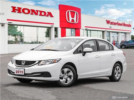 2015 Honda Civic LX (Stk: U6455) in Waterloo - Image 1 of 27