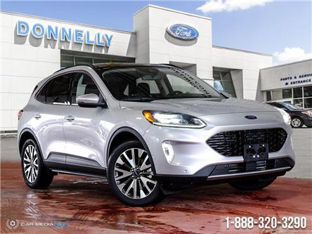 2020 Ford Escape Titanium (Stk: DT104DT) in Ottawa - Image 1 of 27