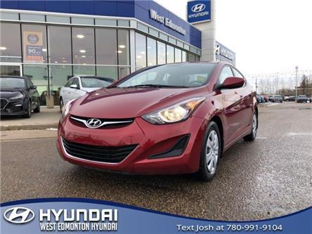 2016 Hyundai Elantra GL (Stk: 1528TA) in Edmonton - Image 1 of 20