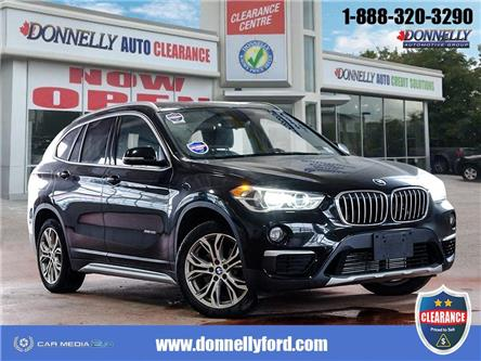 2018 BMW X1 xDrive28i (Stk: CLDUR6328) in Ottawa - Image 1 of 28