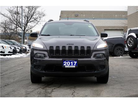 2017 Jeep Cherokee ALTITUDE| 4X4| HID| REAR CAM| COLD WEATHER GRP (Stk: K075A) in Burlington - Image 2 of 43