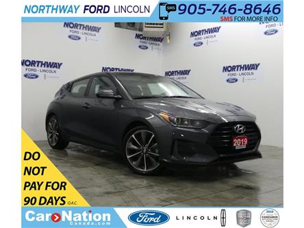2019 Hyundai Veloster GL | HTD SEATS+WHEEL | BACKUP CAM | SPORT MODE | (Stk: DR307) in Brantford - Image 1 of 30