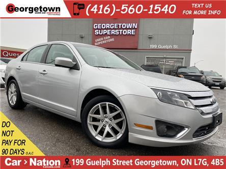 2012 Ford Fusion SEL   NAVI   ROOF   BU CAM   ALLOYS   FOGS   B/T (Stk: OP20002A) in Georgetown - Image 1 of 30