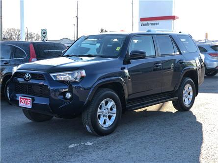 2015 Toyota 4Runner SR5 V6 (Stk: W4896A) in Cobourg - Image 1 of 22