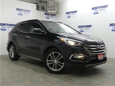2018 Hyundai Santa Fe Sport Turbo | AWD | LEATHER | PANOROOF | (Stk: DR318) in Brantford - Image 2 of 32