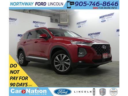 2019 Hyundai Santa Fe Preferred | AWD | HTD SEATS+WHEEL | BACKUP CAM | (Stk: DR289) in Brantford - Image 1 of 32