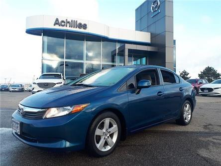 2012 Honda Civic LX (Stk: A9559A) in Milton - Image 1 of 11