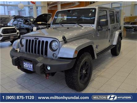 2017 Jeep Wrangler Unlimited Sahara (Stk: 641652) in Milton - Image 1 of 37