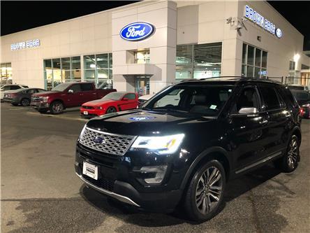 2017 Ford Explorer Platinum (Stk: OP19434) in Vancouver - Image 1 of 30