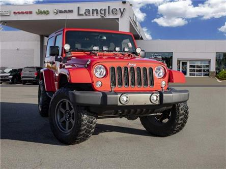 2015 Jeep Wrangler Sahara (Stk: K760575A) in Surrey - Image 1 of 17