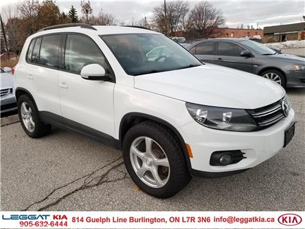 2016 Volkswagen Tiguan  (Stk: 2442) in Burlington - Image 1 of 12