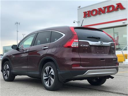 2016 Honda CR-V Touring (Stk: H6244A) in Waterloo - Image 2 of 2